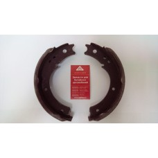 Колодка стояночного тормоза комплект (2 ШТ )